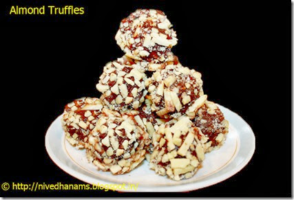 Almond Truffles - IMG_0130