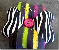 Pin cushion for Janome Challenge