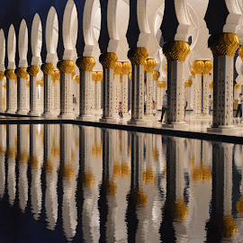 Grand Shaikh Zayed Mosque, Abu Dhabi by Shahzad Naeem Ghori - Buildings & Architecture Places of Worship