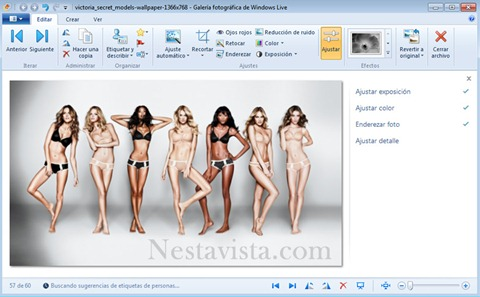 Galeria Fotografica de Windows Live