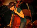 Kathryn cheerfully churns choice cello chops!