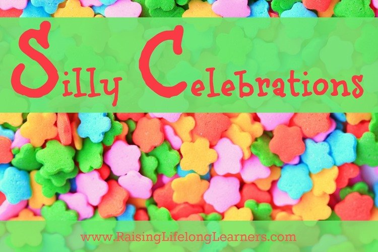 Silly Celebrations for July via www.RaisingLifelongLearners.com