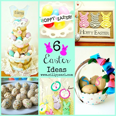 Easter Crafts and Recipe Ideas - The Silly Pearl