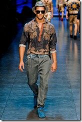 D&G Menswear Spring Summer 2012 Collection Photo 15
