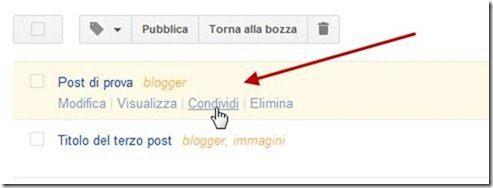 condividere post su Google Plus con Windows Live Writer