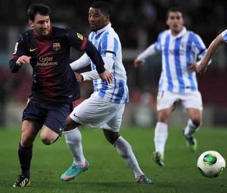 Hasil Barcelona vs Malaga, Copa del Rey