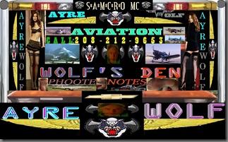 Wolfs Den PhooteNotes Hedder