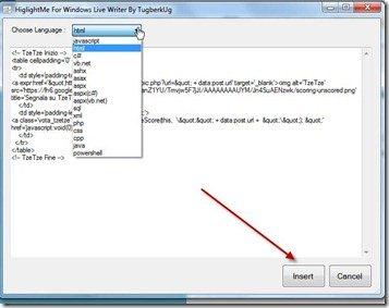 linguaggio-codice-plugin-wlw