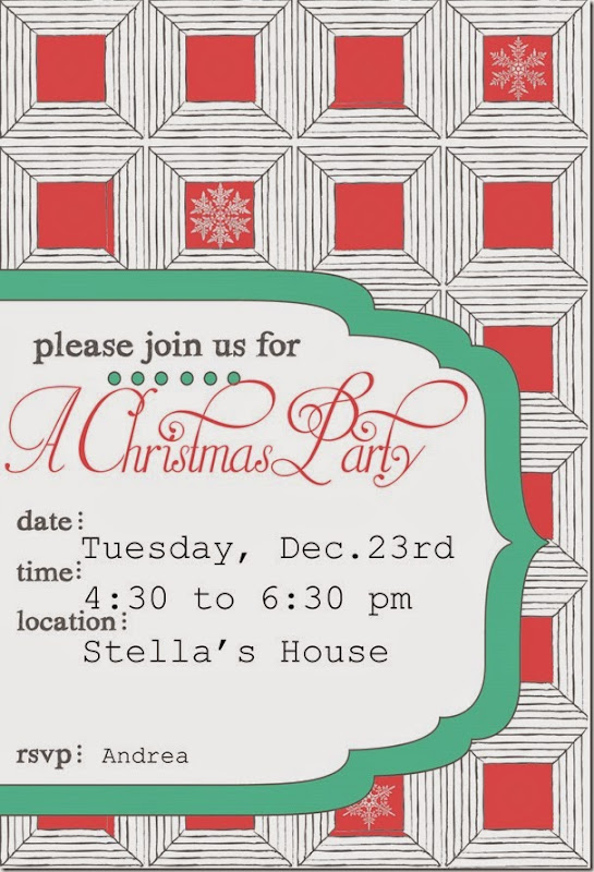 Stella Christmas Party for blog