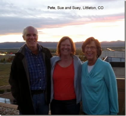 Pete, Sue and Suey, Littleton, CO