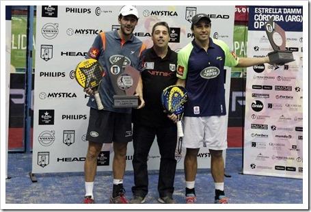Martín Díaz y Belasteguín Campeones en Córdoba (Argentina) WPT 2014.