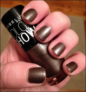 Maybelline Metal Icon Swatch