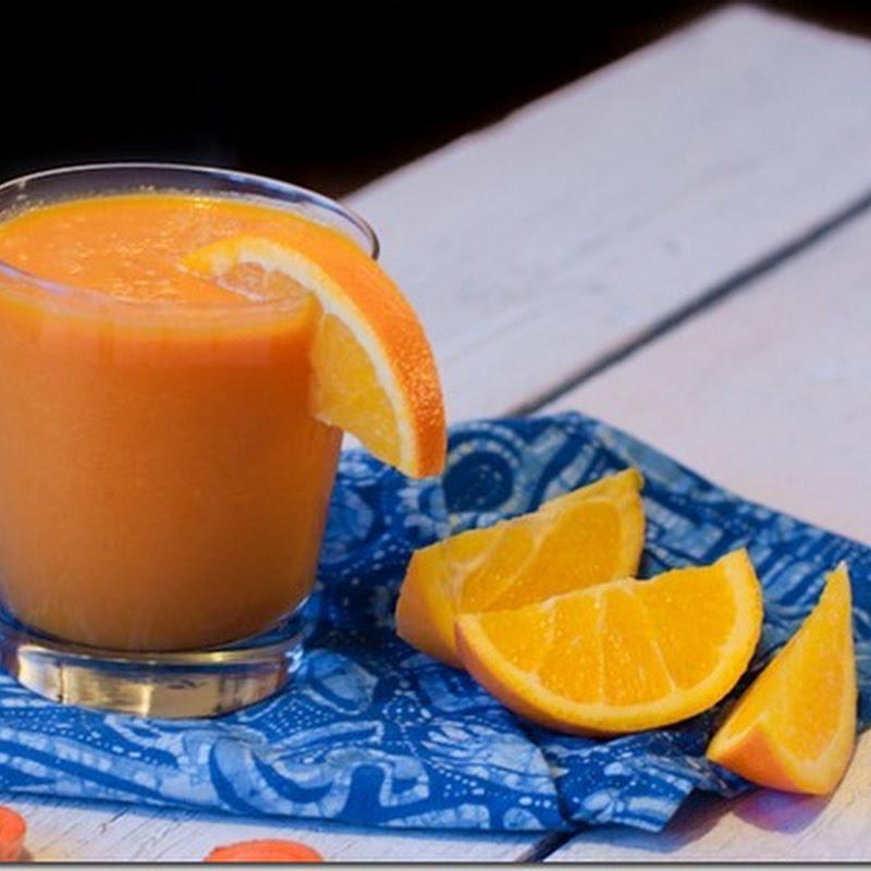 Carrot Orange Barley smoothie