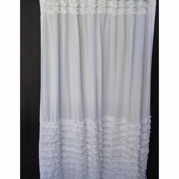 183BBB92 112F 1523 E84F3BF782DC4A0F Ruffled Shower Curtain