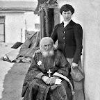 Г. Судковский и внучка Маргарита.