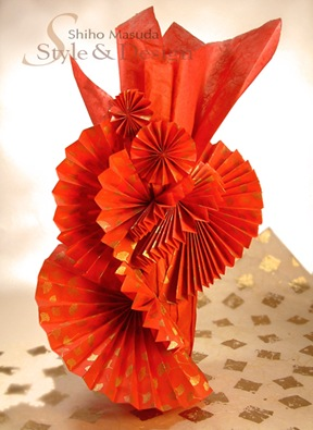 Fun-Fan-Design wine bottle wrapping