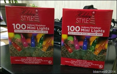 Lights from dollar store 11232014