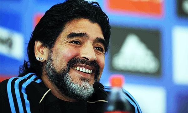 Maradona-técnico-Selección