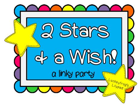 2 stars and a wish linky logo