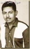 عبدالكريم توفيق في شبابه