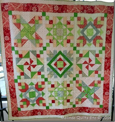 1214 Christmas Quilt