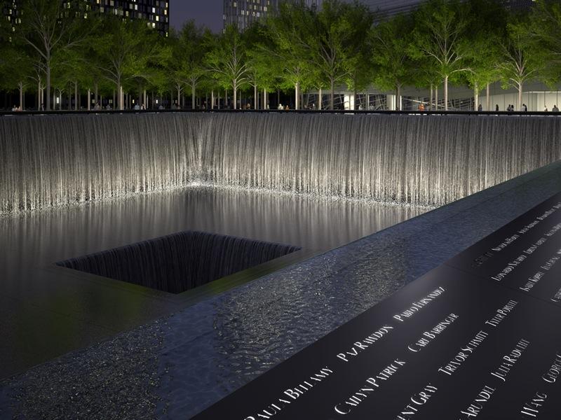 18 45 Memorial Pool Names Parapet Rendering Squared Design Lab