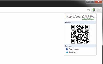 Google URL Shortener for Chrome