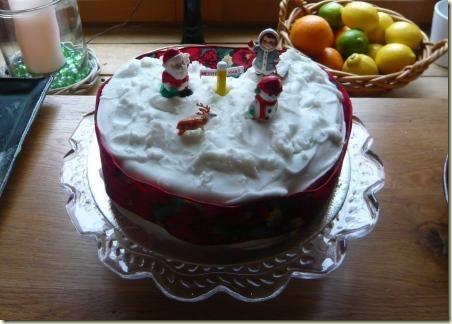 christmas cake 7
