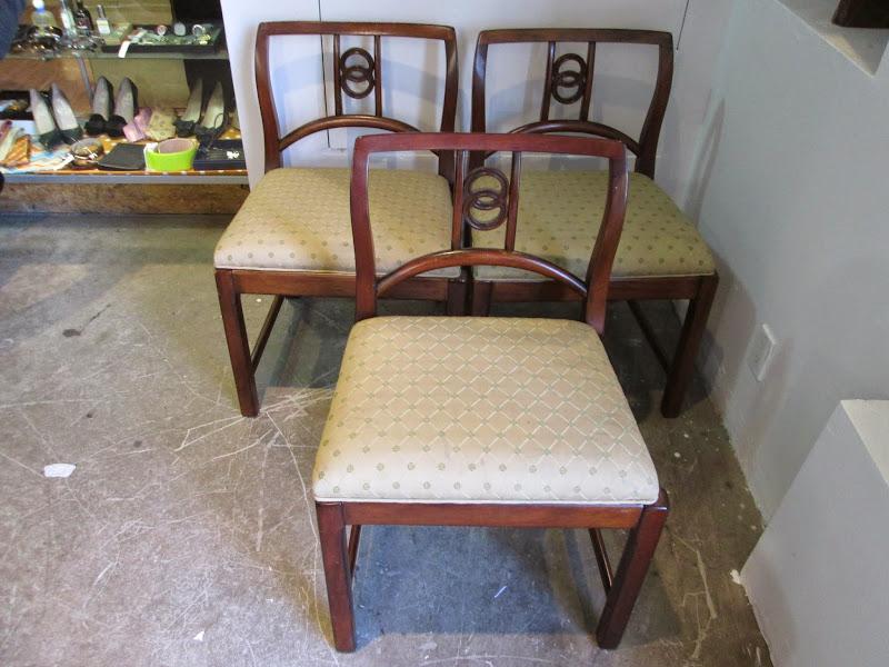 Asian Style Chair Trio