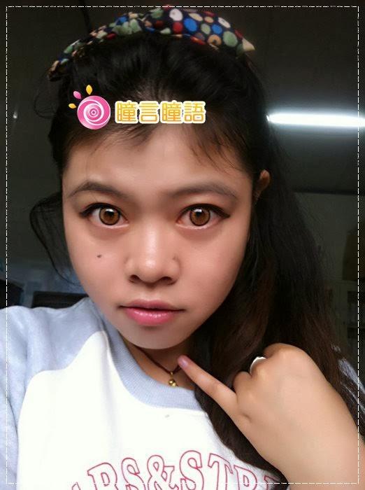 韓國GEO隱形眼鏡-GEO Holicat 荷麗貓仙女咖(Barbie Cat)17
