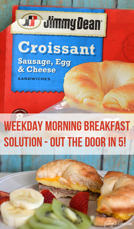 Breakfast on the go - Jimmy Dean Redbox Breakfast
