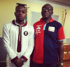 Olamide and Governor Kayode Fayemi