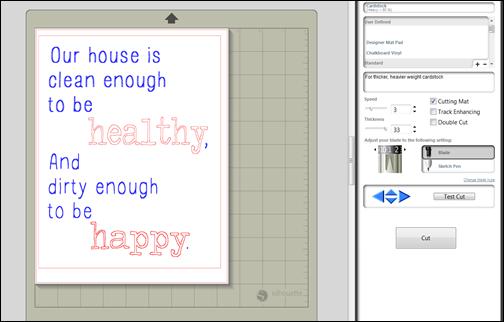 Faux Printable Screenshot