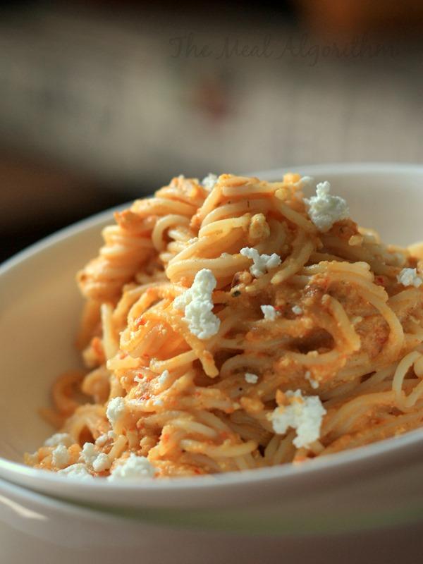 Peanut Hummus & Chilli Pesto Pasta-3