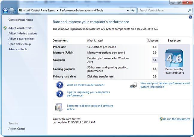 Acer Aspire 4752G Benchmark