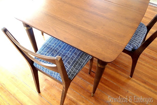Fabulous 50u0027s dining set... completely restored! & How to Restore a Mid-Century Dining Set | Reality Daydream