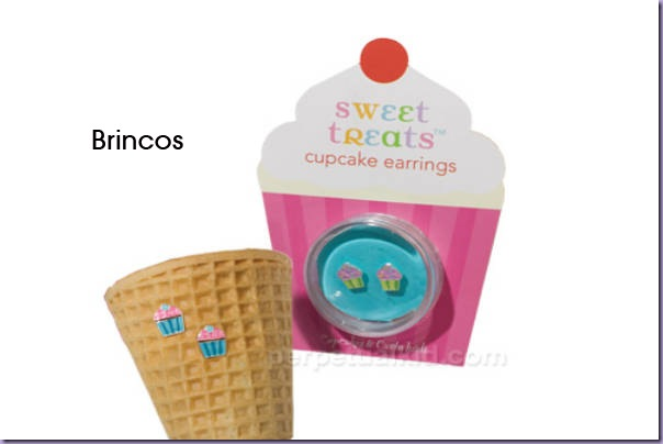 Cupcake-Brincos