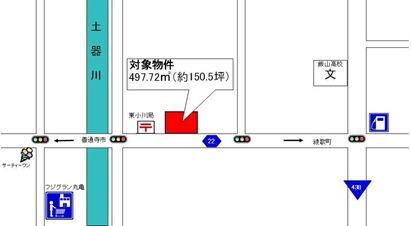 東小川地図