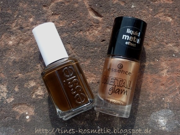 essie Little Brown Dress Stamping 2