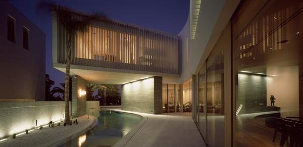 Casa contemporanea de fachadas modernas