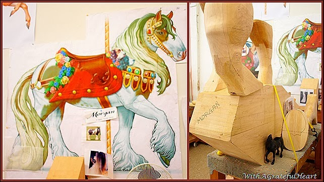 Carousel Carving - Morgan Horse