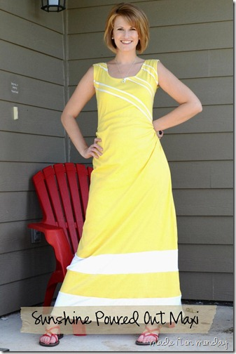 yellow maxi