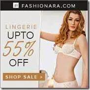 Fashionara offer: Buy Lingerie at upto 90% off