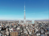 Sumida Tower: to be completed in 2011 in Tokyo, will be the world's tallest structure