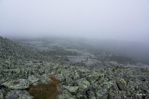 Южный отрог Главного Уральского Хребта