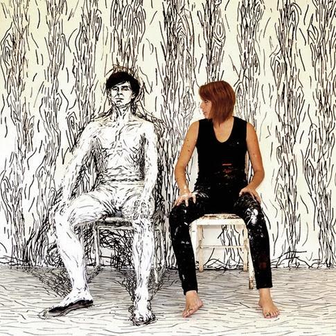Las increíbles pinturas humanas de Alexa Meade5