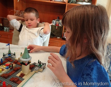 Lego Hogwarts game for young kids