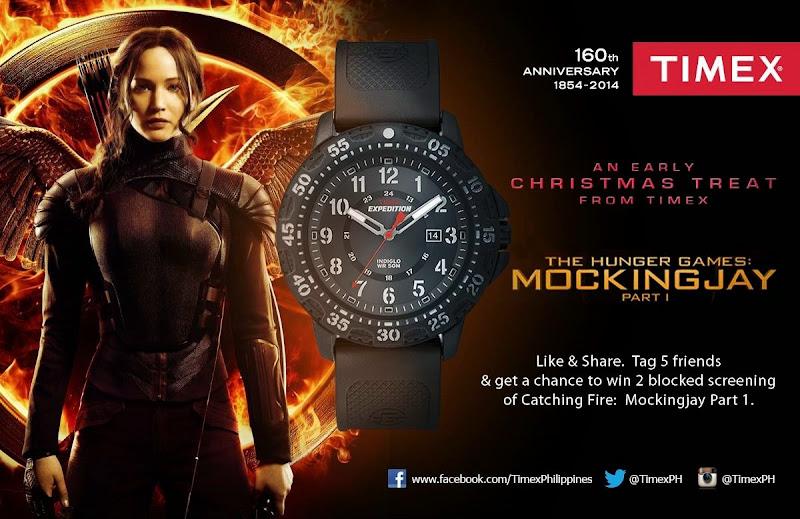 Timex Hunger Games Mockingjay giveaway