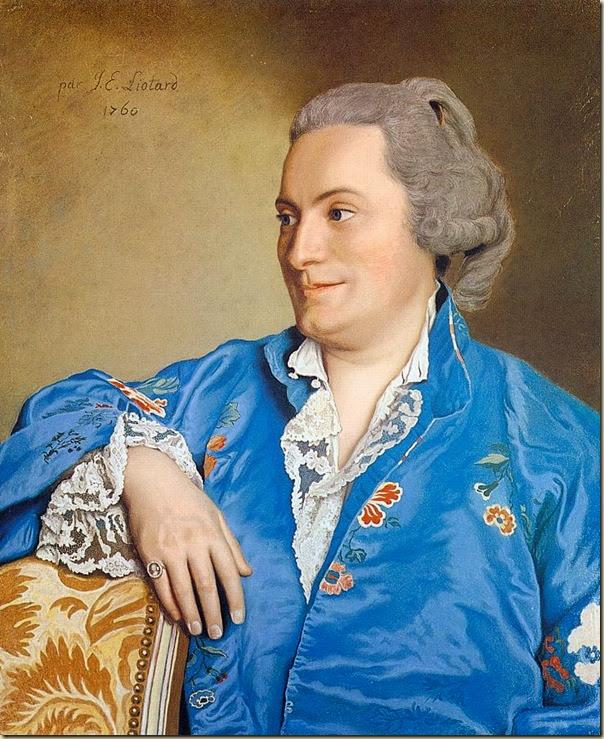 Liotard, Portrait d'homme