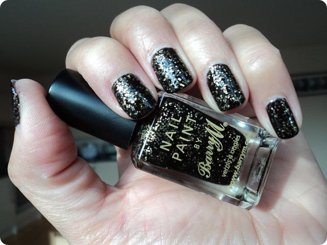 Barry M Jewel Glitter Nail Paints NP355 Gold Mine